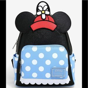 SOLD LOUNGEFLY DISNEY MINNIE MOUSE RETRO BACKPACK